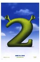 Shrek 2 Logo Wall Poster