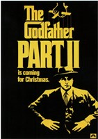 Godfather Part 2 is coming for Christmas Wall Poster