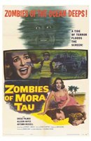 Zombies of Mora Tau Wall Poster