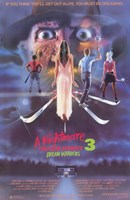 Nightmare on Elm Street 3: Dream Warrior Wall Poster