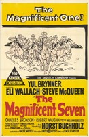The Magnificent Seven Yul Brynner Wall Poster