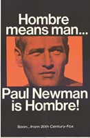 Hombre Paul Newman Wall Poster