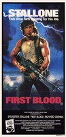 Rambo: First Blood Stallone Framed Print