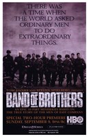 Band of Brothers Extraordinary Things Framed Print