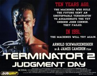 Terminator 2: Judgment Day Framed Print