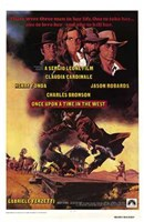 Once Upon a Time in the West Charles Bronson Fine Art Print