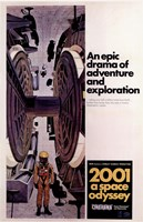 2001: a Space Odyssey Astronaut Framed Print