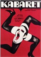 Cabaret Legs Wall Poster