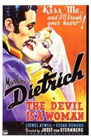 The Devil is a Woman Wall Poster