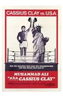 Aka Cassius Clay Wall Poster