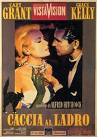 to Catch a Thief Cary Grant Wall Poster