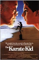The Karate Kid Beach Framed Print