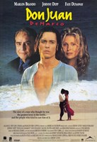 Don Juan De Marco Johnny Depp Wall Poster