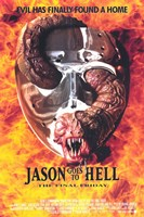 Jason Goes to Hell: the Final Friday Wall Poster
