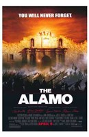 The Alamo You Will Never Forget Wall Poster