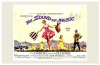 The Sound of Music Horizontal Musical Framed Print