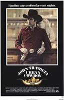 Urban Cowboy Wall Poster