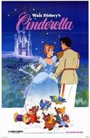 Cinderella Mice Wall Poster
