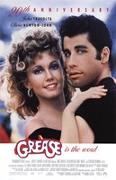 Grease 20th Anniversary Framed Print