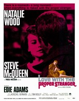 Love with the Proper Stranger - Steve McQueen Wall Poster