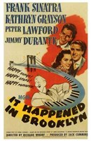 it Happened in Brooklyn Wall Poster