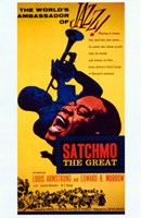 Satchmo the Great Wall Poster