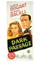 Dark Passage - tall Wall Poster