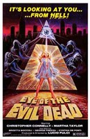 Eye of the Evil Dead Wall Poster