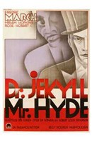 Dr Jekyll and Mr Hyde Broadway Wall Poster
