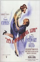 It's a Wonderful Life Frank Capra - square Wall Poster