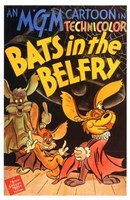 Bats in the Belfry Wall Poster