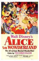 Alice in Wonderland Disney Fine Art Print
