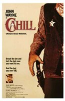 Cahill Us Marshal Wall Poster