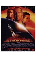 Armageddon Bruce Willis Framed Print