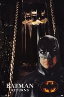 Batman Returns Bat Suits Wall Poster