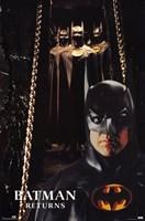 Batman Returns Bat Suits Wall Poster