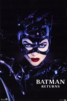 Batman Returns Catwoman Framed Print