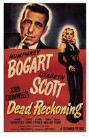 Dead Reckoning Black and Red Wall Poster