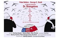Dr Strangelove  or: How I Learned to Sto - wide Framed Print