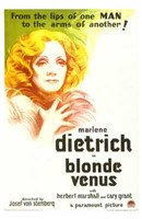 Blonde Venus Wall Poster