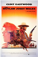 Outlaw Josey Wales Clint Eastwood Wall Poster