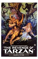 The Revenge of Tarzan, c.1920 - style A Wall Poster
