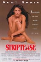 Striptease Wall Poster