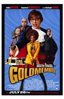 Austin Powers in Goldmember Framed Print