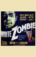 White Zombie - square Wall Poster