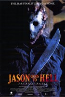 Jason Goes to Hell:Jason Vorhees Wall Poster