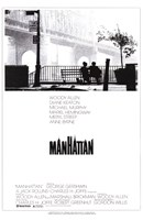 Manhattan - couple on a bench Framed Print
