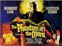 Phantom of the Opera, c.1962 - style A (foreign) Framed Print