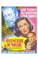 The Ghost and Mrs Muir Wall Poster