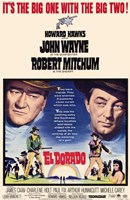 El Dorado Movie John Wayne Wall Poster